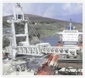 4000 MTPH Shiploader